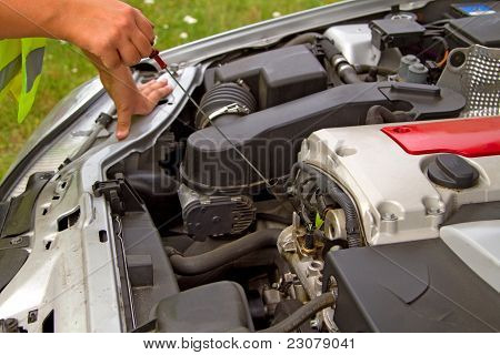 Checking Engine Oil