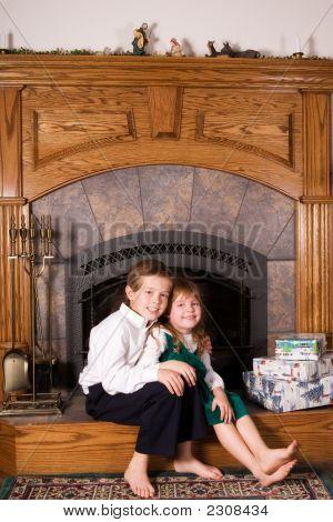 Brother And Sister Christmas