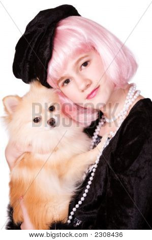 Diva-Pomeranian Snuggle