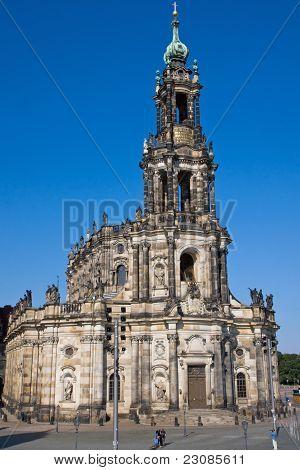 The Hofkirche in Dresden