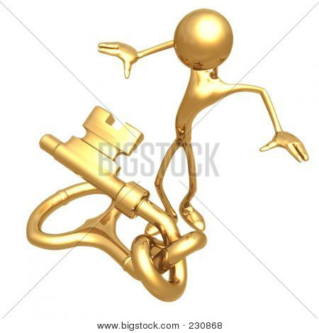 Knotted Key