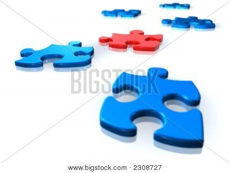 3D Puzzle Elements