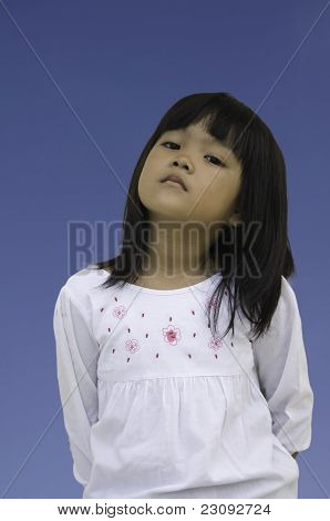 Asian lady children