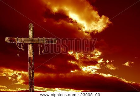 Cross And Clouds