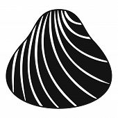 Hard Shell Icon. Simple Illustration Of Hard Shell Vector Icon For Web poster