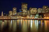 San Francisco Waterfront. The Embarcadero, San Francisco, California, Usa. poster