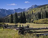 image of rocky-mountains  - Dallas Creak Meadow in the San Juan Mountains of Colorado - JPG