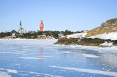 The Blue Ice Of The Gulf Of Finland Near The Hanko. Finland poster