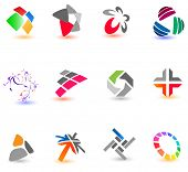 Collection of different colorful icons for your design (Part 16). Please visit my gallery to see sim