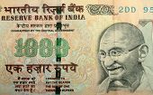 image of mahatma gandhi  - Extreme Close up of Indian Currency  - JPG