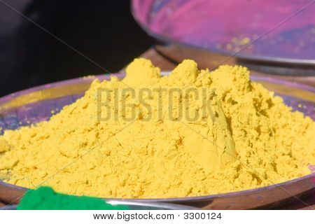 Yellow Vegetable Dye