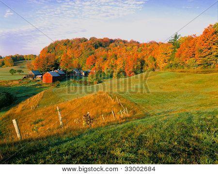 Rural Vermont Farm