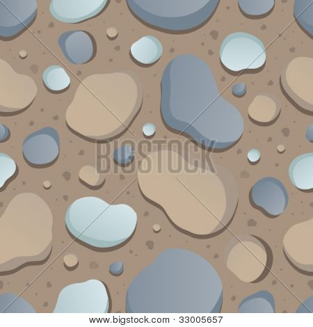 Seamless stone background 1 - vector illustration.