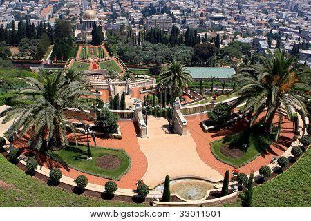 Bahai gardens, Israel