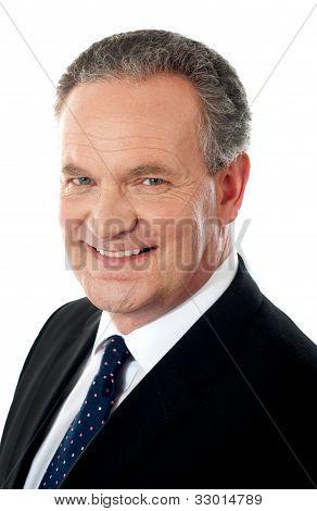 Closeup Of A Business Executive
