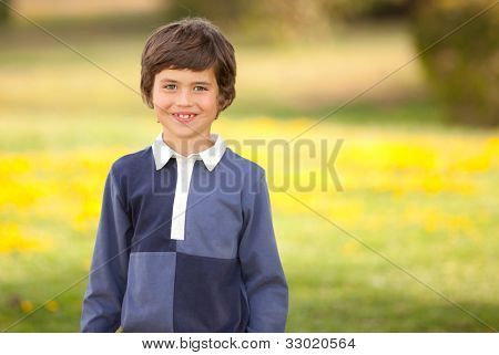 happy smiling summer kid child or boy