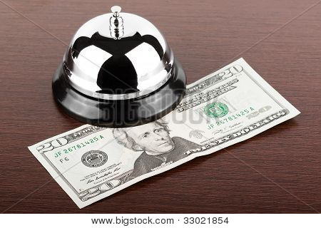 Service Bell With Money