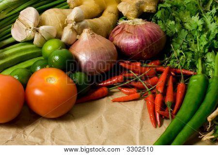 Ingredientes de cocina asiática