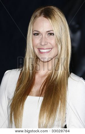 LOS ANGELES - OCT 20: Sarah Carroll at the 'In Time' Premiere at the Regency Village Theatre on October 20, 2011 in  in Los Angeles, California