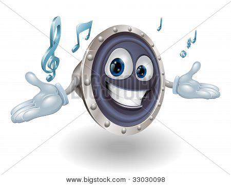 Speaker Man Character