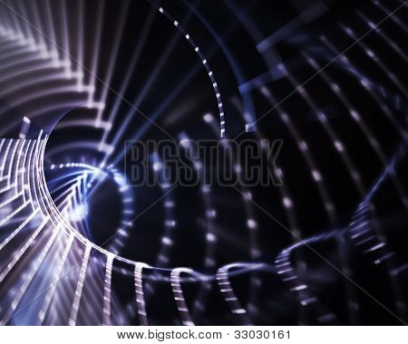 Computer graphics abstract background design