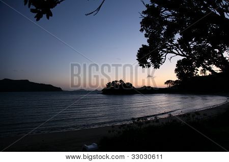 Bay On The Coromandel Peninsula