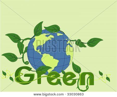 Va el verde en la belleza del mundo!