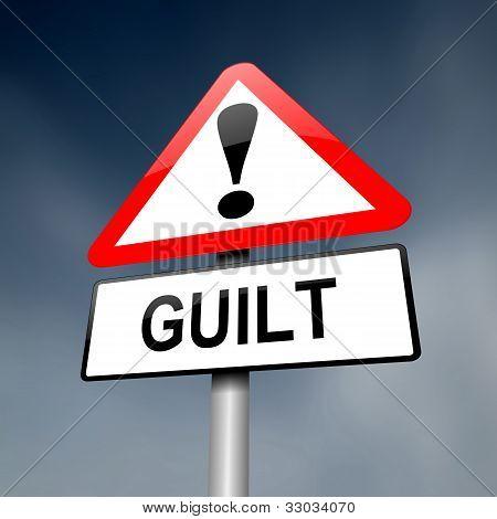 Guilt Concept.