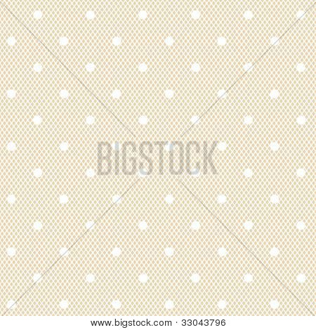 white dotted veil seamless pattern on fresh colour background