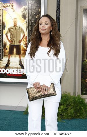 LOS ANGELES, CA - JULY 06:  Leah Remini at the premiere of 'The Zookeeper' at the Regency Village Theatre on July 6, 2011 in Los Angeles, California