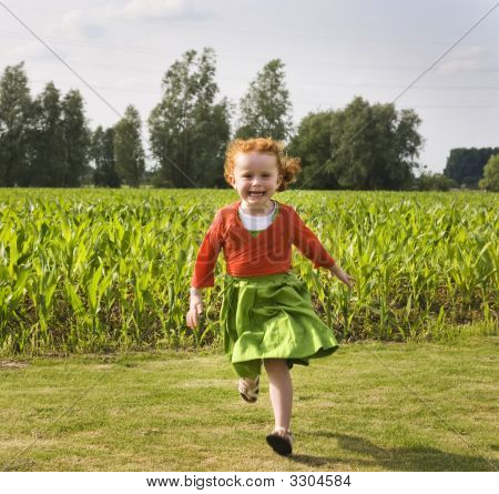 Little Child Running