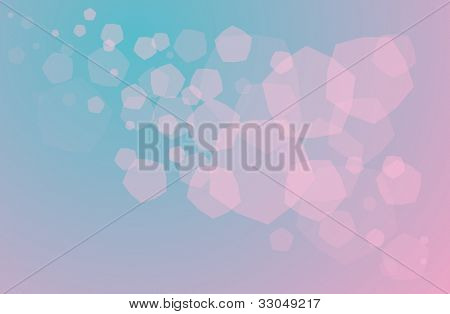 Illustration of blury shapes abstract background - EPS VECTOR format also available in my portfolio.