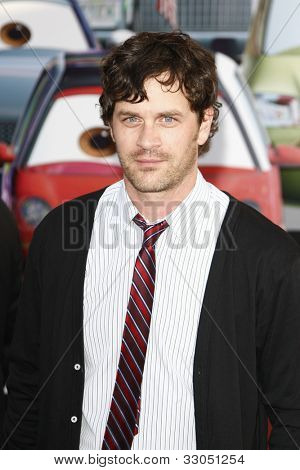 LOS ANGELES - JUNE 18: Tom Everett Scott at the Premiere of Walt Disney Pictures' 'Cars 2' at the El Capitan Theatre in Los Angeles, California on June 18, 2011.