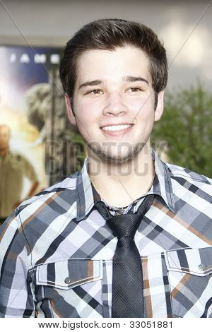 LOS ANGELES, CA - JULY 06:  Nathan Kress at the premiere of 'The Zookeeper' at the Regency Village Theatre on July 6, 2011 in Los Angeles, California