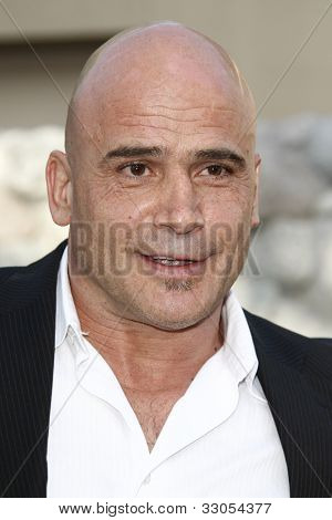 LOS ANGELES, CA - JULY 06:  Bas Rutten at the premiere of 'The Zookeeper' at the Regency Village Theatre on July 6, 2011 in Los Angeles, California