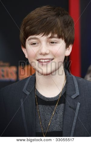 LOS ANGELES - MARCH 6: Greyson Chance at the World Premiere of 'Mars Needs Moms' held at the El Capitan Theater in Los Angeles, California on March 6, 2011