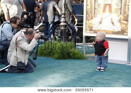 LOS ANGELES, CA - JULY 06:  Verne Troyer at the premiere of 'The Zookeeper' at the Regency Village Theatre on July 6, 2011 in Los Angeles, California