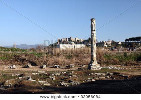 Ruins Of Temple Of Artemis