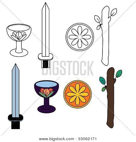 Tarot suit symbols