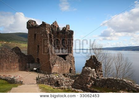 Grant Tower, Urquhart Castle