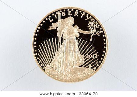 E.U. moeda de ouro American Eagle