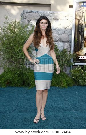 LOS ANGELES, CA - JULY 06:  Danielle Vasinova at the premiere of 'The Zookeeper' at the Regency Village Theatre on July 6, 2011 in Los Angeles, California