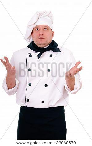 Surprised Chef