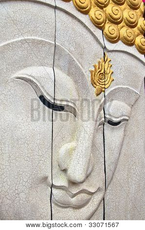 White Face Of Buddha
