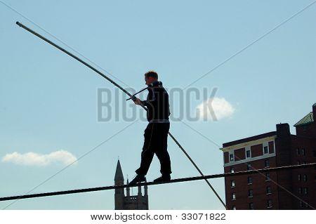 Nik Wallenda Tight Rope Walker