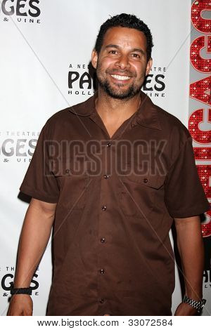 LOS ANGELES - MAY 16:  Jon Huertas arrives at the Opening Night of the Play