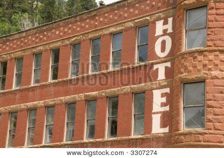 Hotel In Historic Deadwood, South Dakota