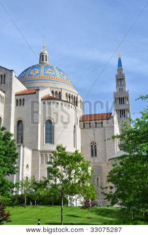Basilica of the National Shrine of the immaculate Conception - Washington DC