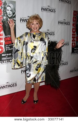 LOS ANGELES - MAY 16:  Ruta Lee arrives at the Opening Night of the Play