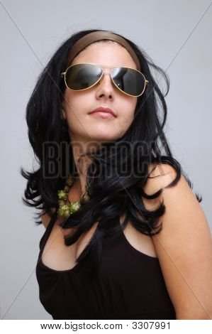 Fashion Sunglasses Girl